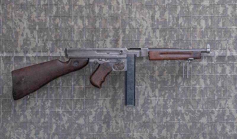 .45 ACP-Pistolet maszynowy Thompson