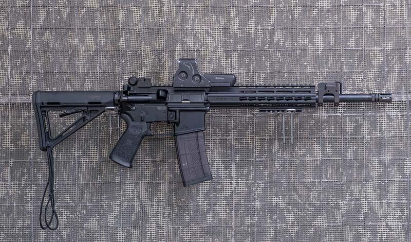 5,56 mm. (.223 Rem)-KBK-AR15 w wersji GH 15, lufa 14,5 cala