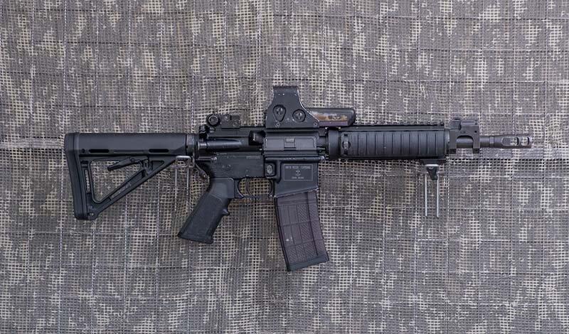 5,56 mm. (.223 Rem)-KBK-M4 mk18, lufa 10,5 cala