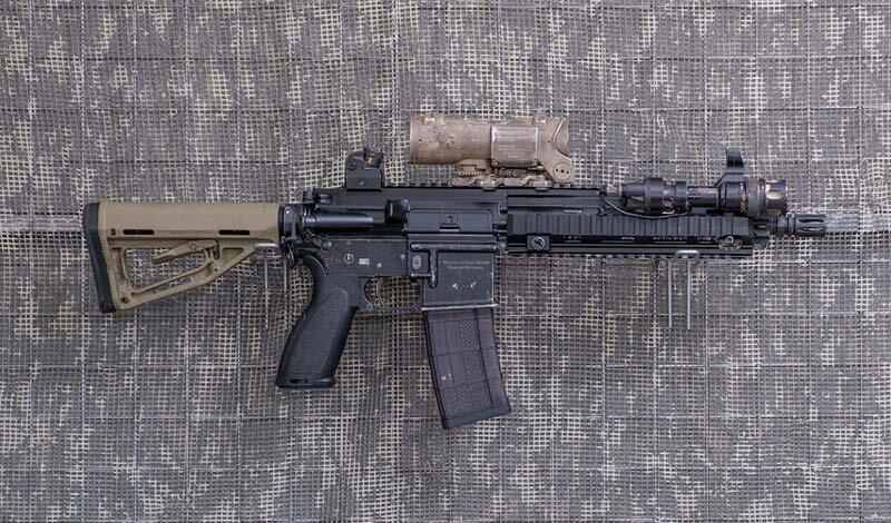 5,56 mm. (.223 Rem)-KBK HK 416, lufa 10,5-cala