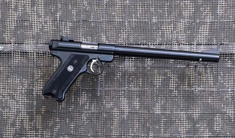 5,56 mm. (.22LR)-Pistolet Ruger MK II Target