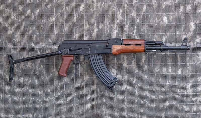 7,62 mm.-KBK AKMS w wersji Works11