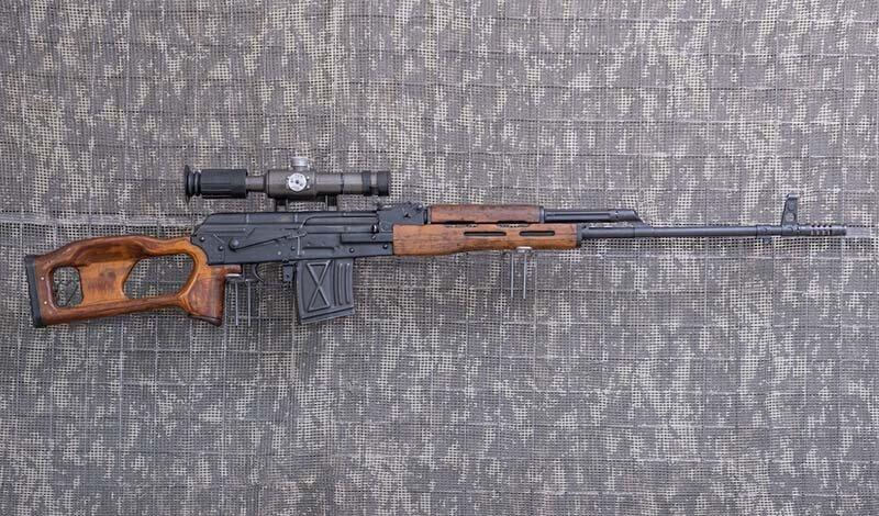 7,62 mm.-KBW (karabin wyborowy) PSL
