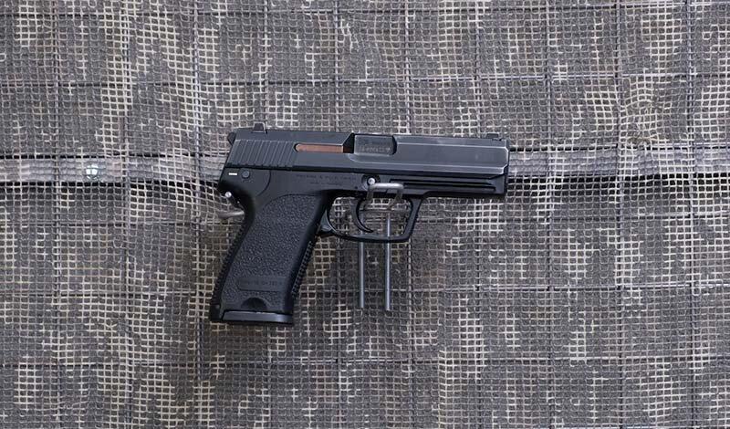 9 mm.-Pistolet H&K USP