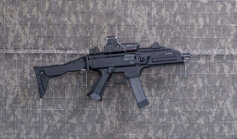 9 mm.-Pistolet maszynowy-Scorpion EVO 3